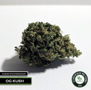 OG Kush - Side View - by Garden State Dispensary