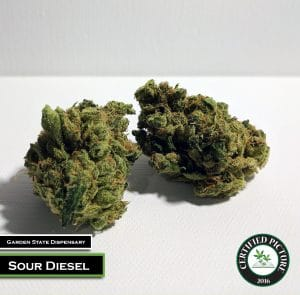 Sour Diesel by Garden State Dispensary